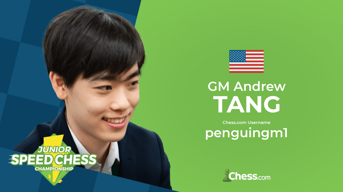 Andrew Tang Wins Junior Speed Chess Championship Qualifier