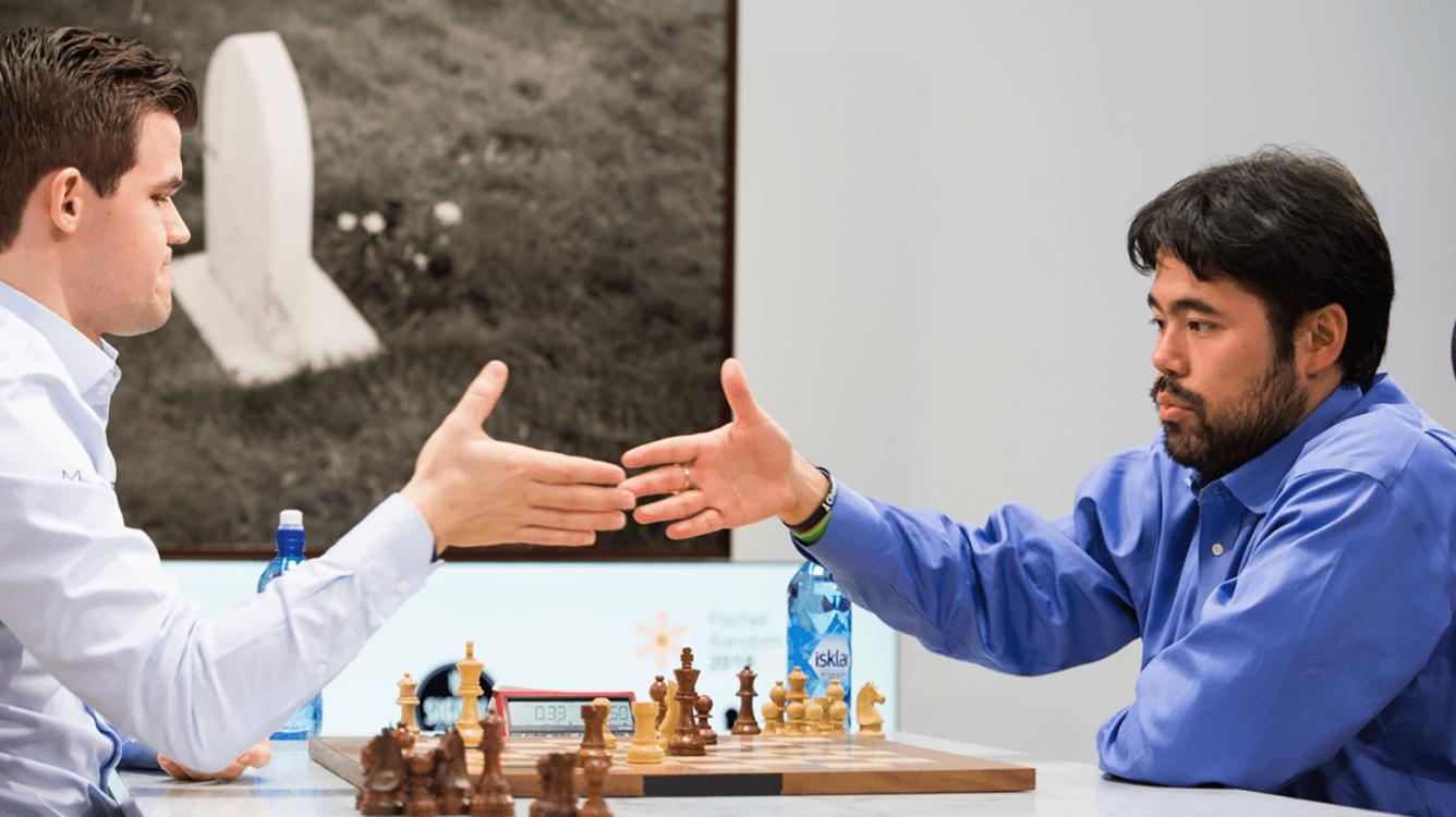 Carlsen y Nakamura comparten triunfo en el Chess9LX