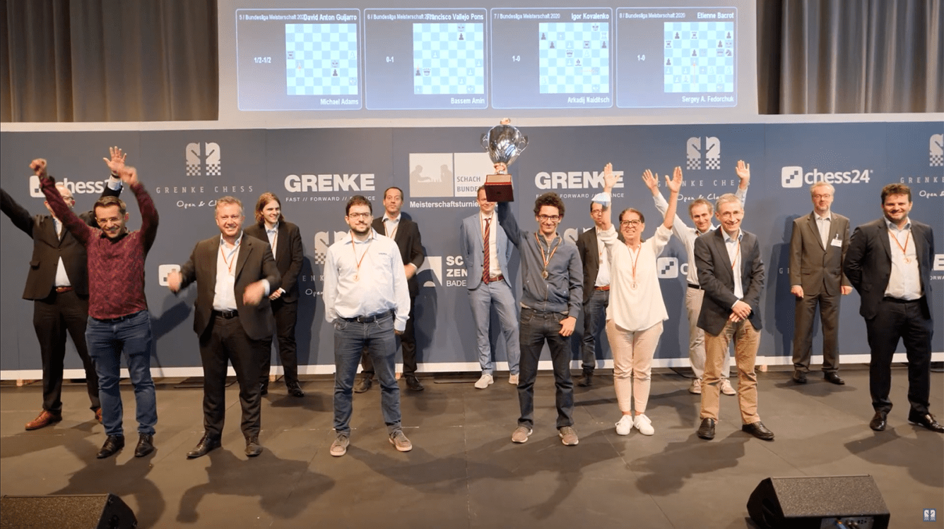 More Bundesliga Brilliancies As Baden-Baden Wins Title