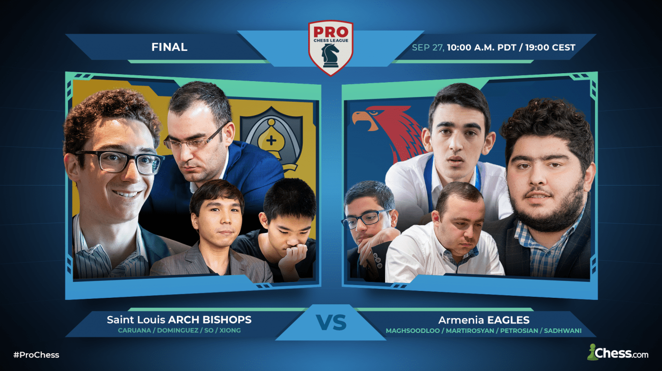 Today: PRO Chess League Final