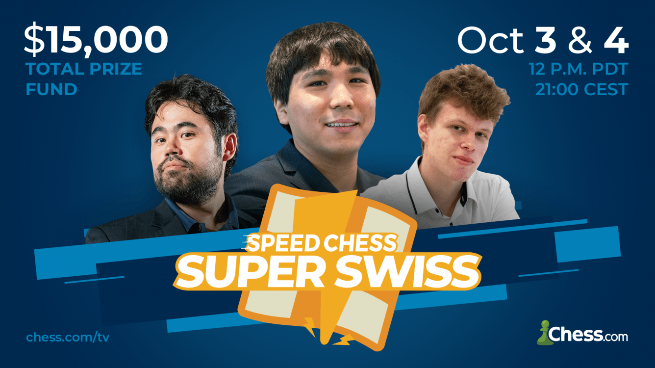 Wesley So Tops Qualifier For Sunday's Super Swiss Knockout