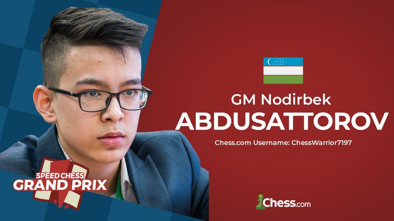Abdusattorov Wins 19th Speed Chess Grand Prix