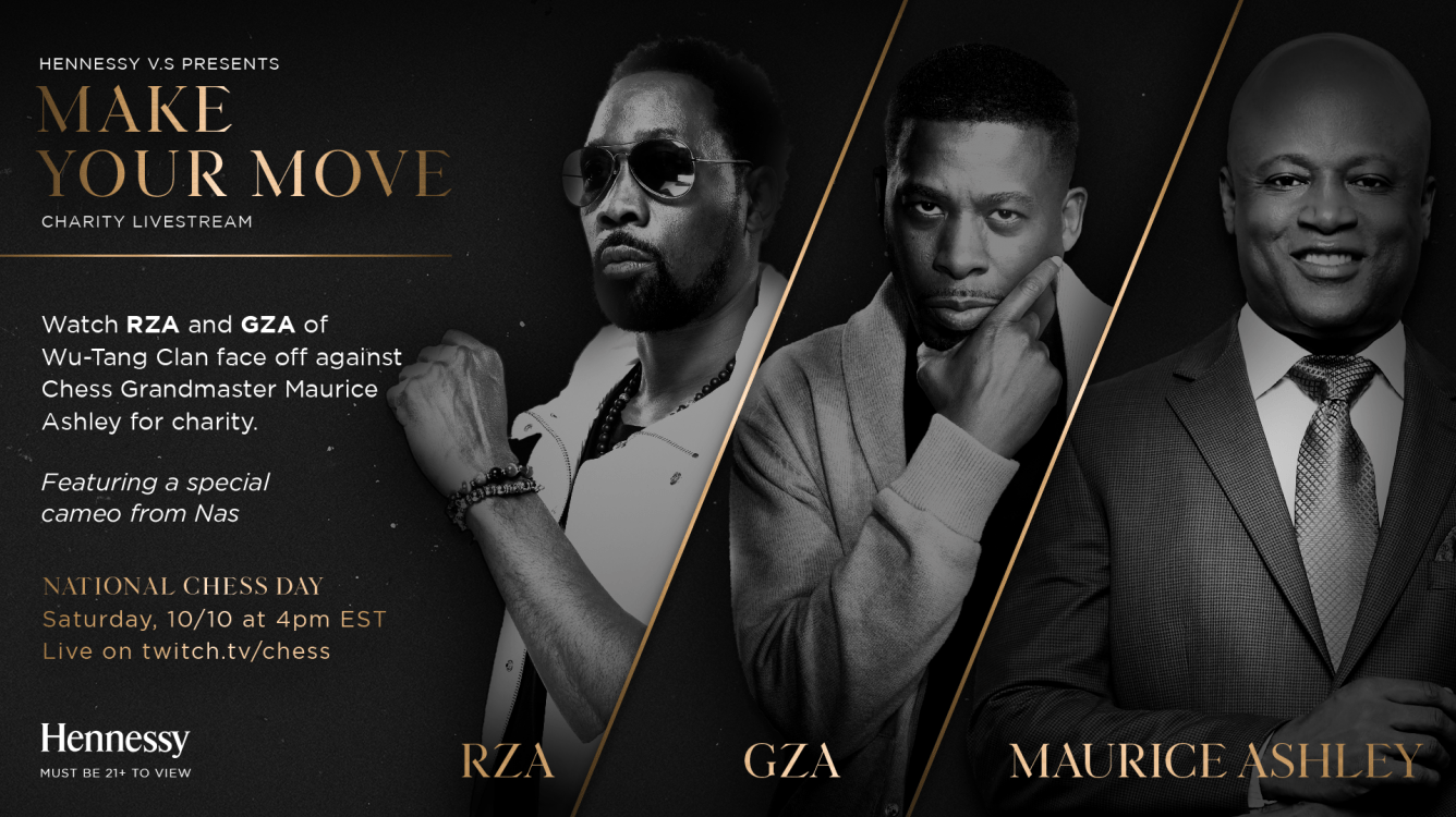 "Hennessy Presents ""Make Your Move"" Featuring RZA And GZA Of Wu-Tang And Maurice Ashley"