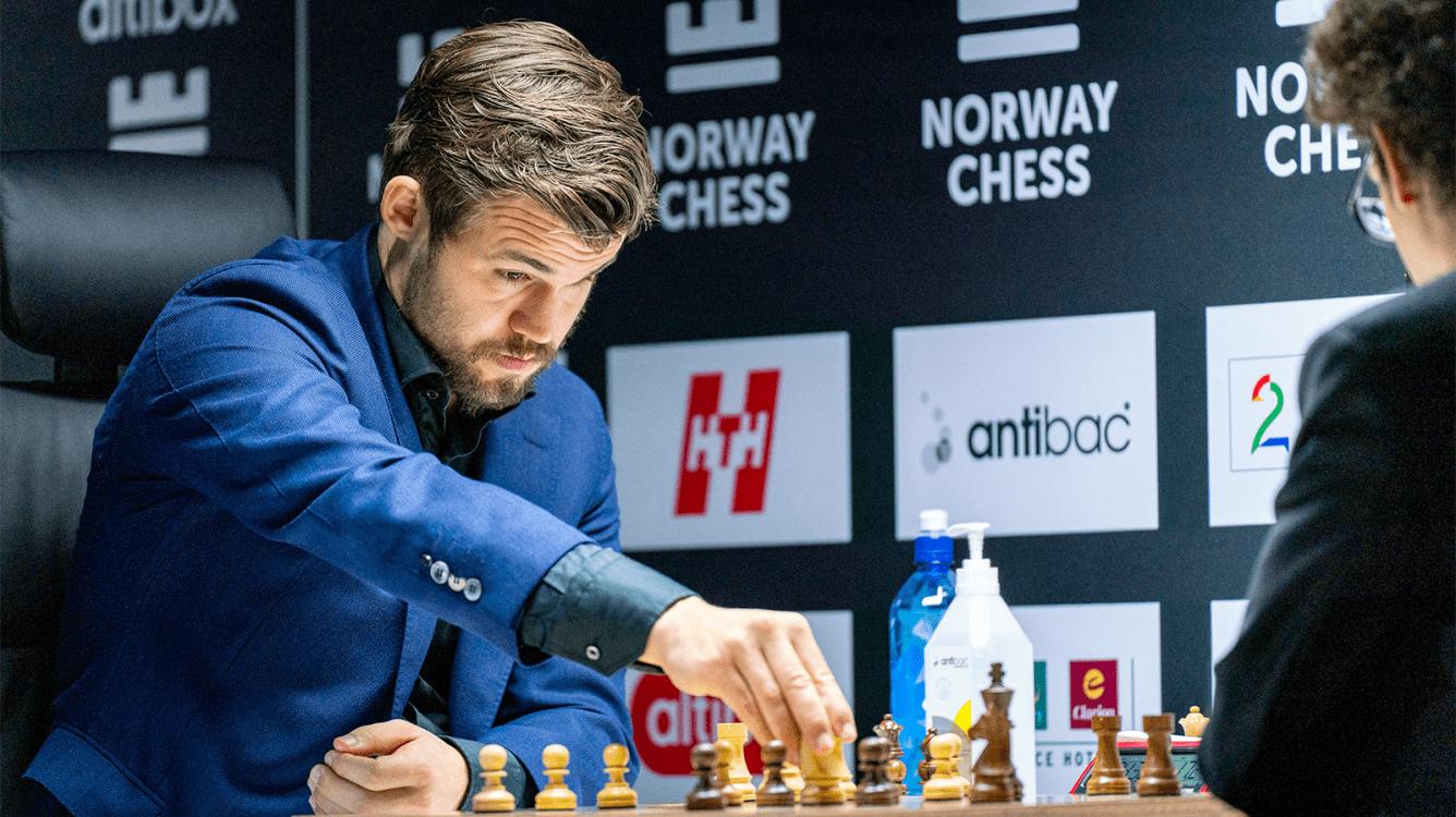 Norway Chess ronda 4: Carlsen vuelve a derrotar a Caruana