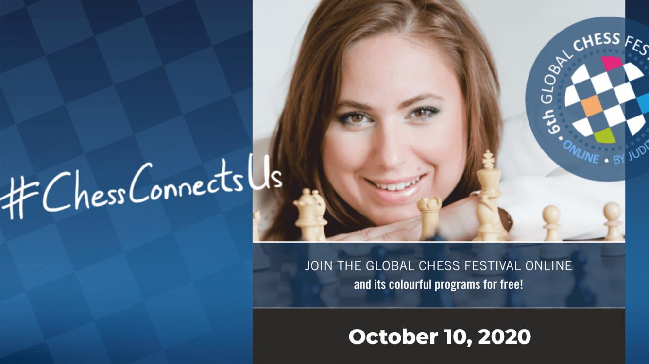 Today: Judit Polgar's Global Chess Festival, Online