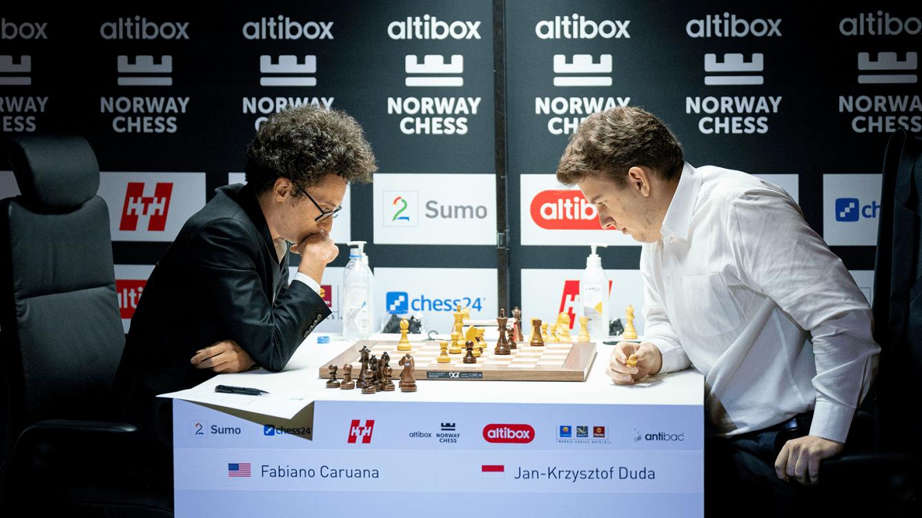 Norway Chess: Caruana se sitúa líder en solitario tras la ronda 2