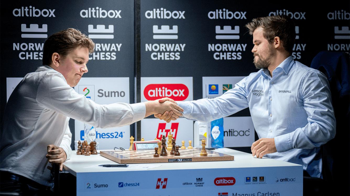 Norway Chess ronda 5: Duda acaba con la imbatibilidad de Carlsen