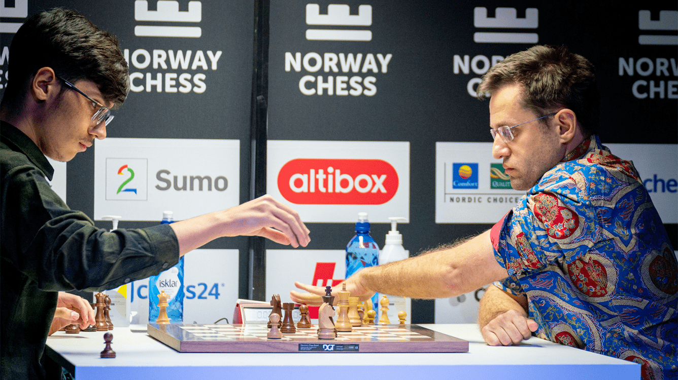 Norway Chess Round 7: Firouzja Maintains Lead As Aronian Flags