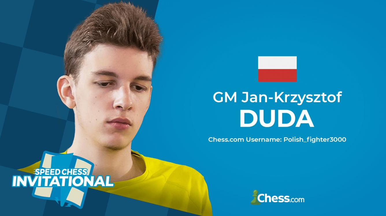 Duda gana el Speed Chess Invitational y se clasifica para el torneo principal