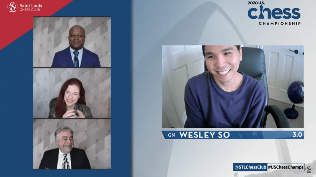 Wesley So Perfect On U.S. Championship Day 1