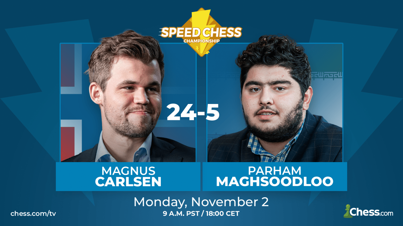Carlsen Crushes Maghsoodloo In Speed Chess Match