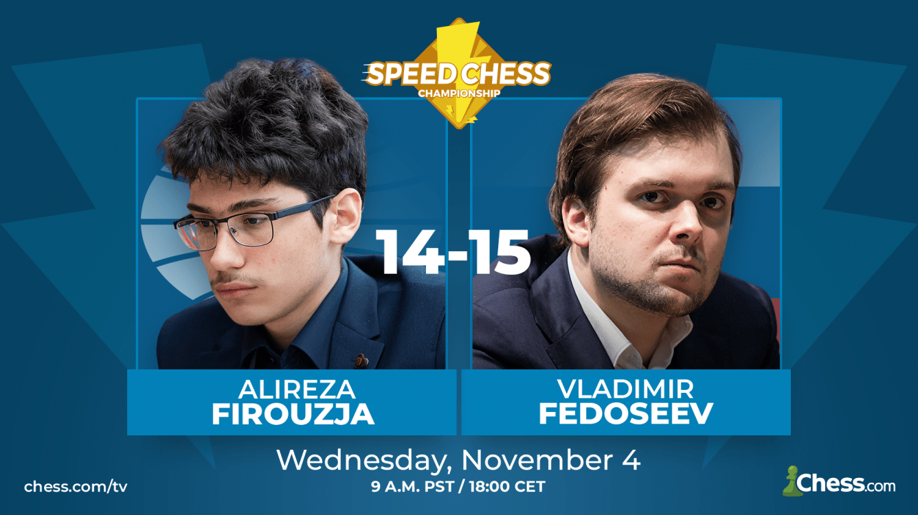 Speed Chess Preview: Firouzja vs. Fedoseev