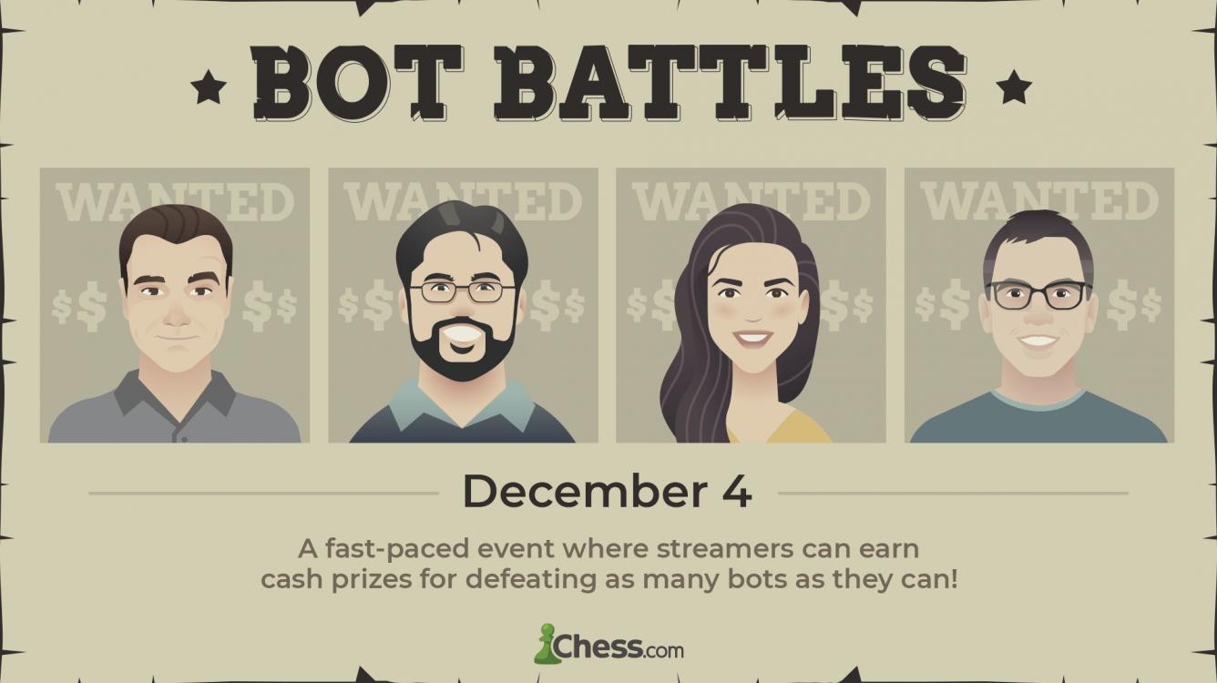 Sign Up For Bot Battles On December 4th