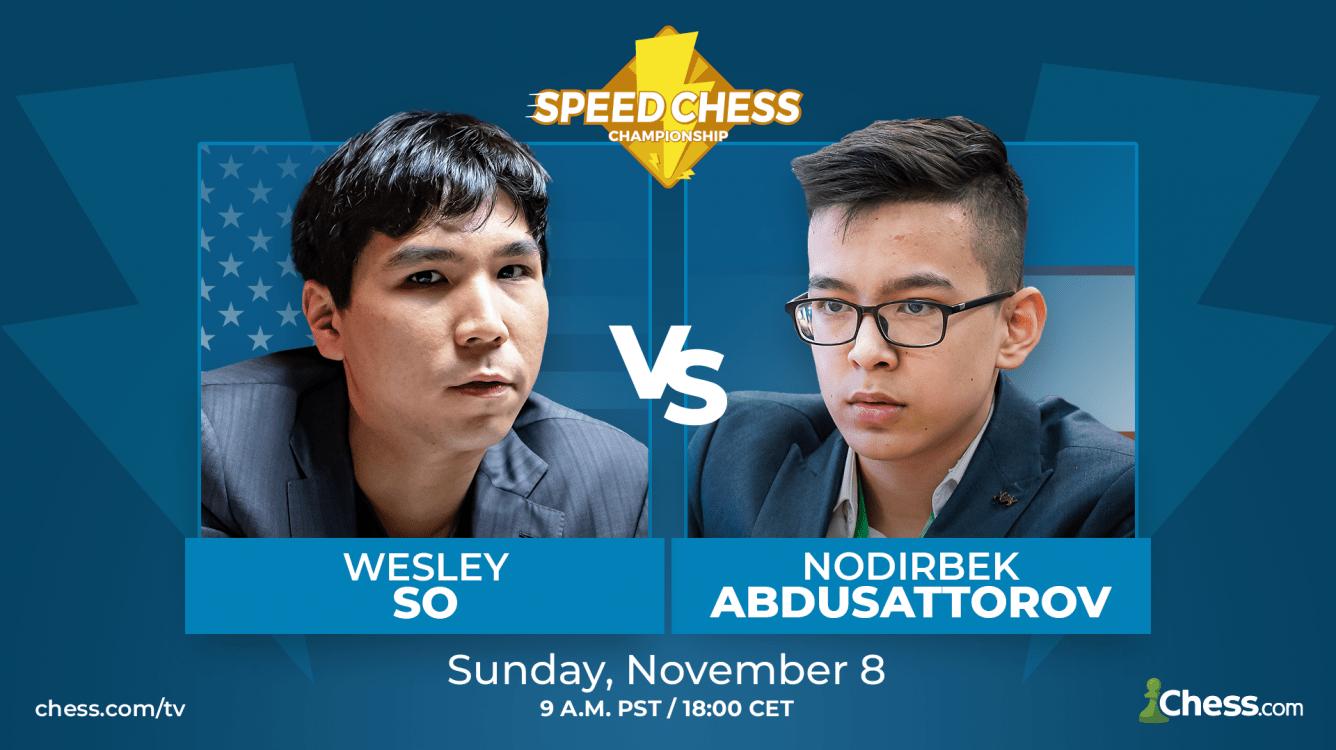 Speed Chess Preview: So vs. Abdusattorov