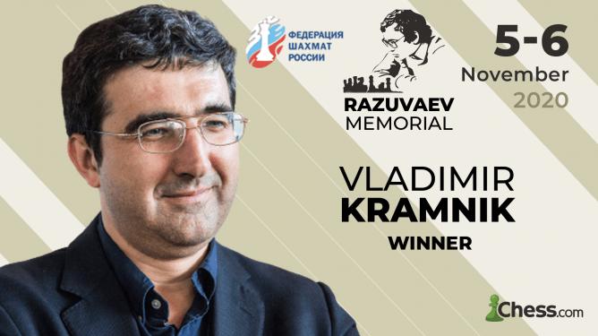 Vladimir Kramnik gewinnt das Razuvaev Memorial