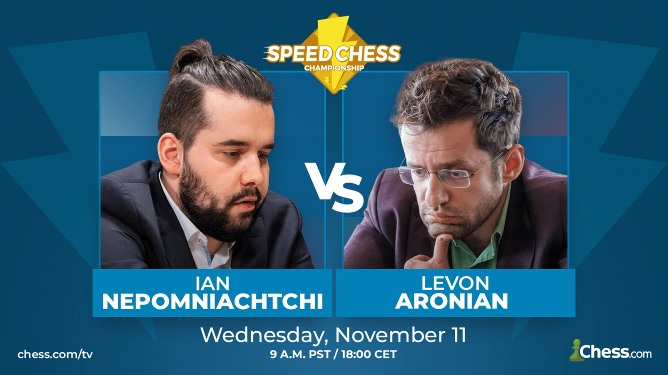 Speed Chess Preview: Nepomniachtchi vs. Aronian