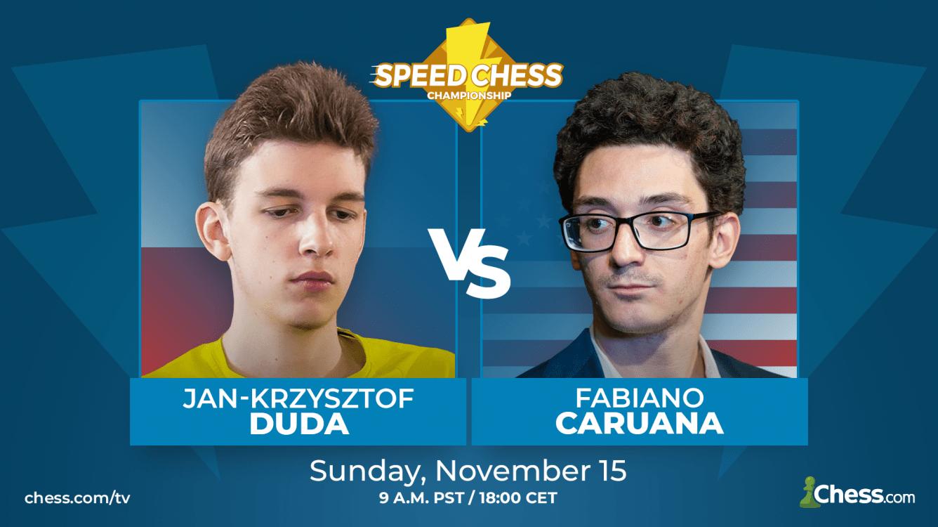 Speed Chess Preview: Duda vs. Caruana