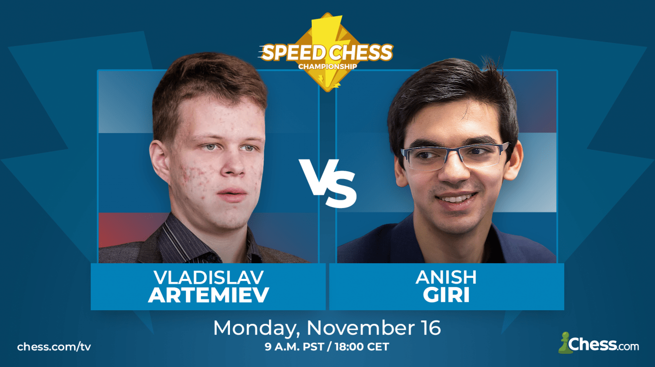 Speed Chess Preview: Artemiev-Giri