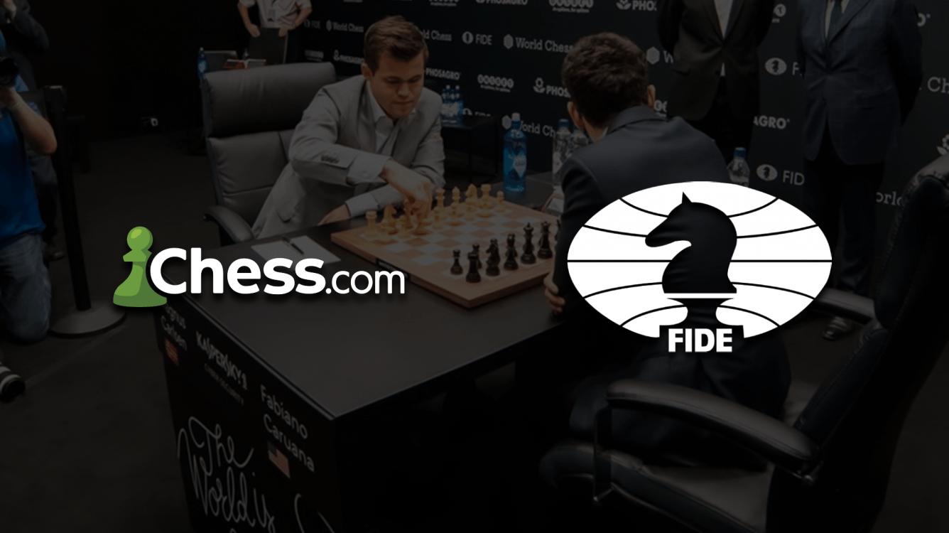 Chess.com y la FIDE alcanzan un acuerdo por los derechos de retransmisión del Campeonato del Mundo de 2021