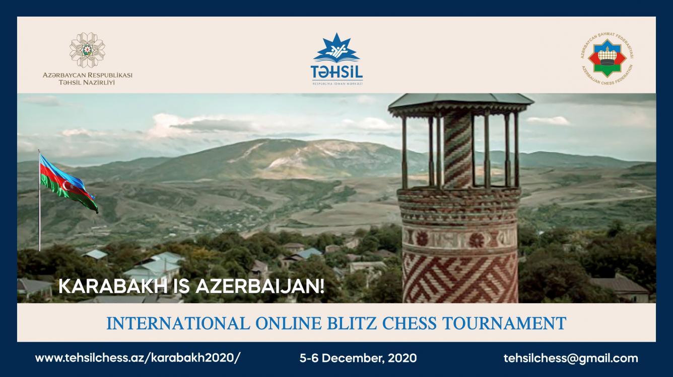 Karabakh is Azerbaijan! International online chess tournament