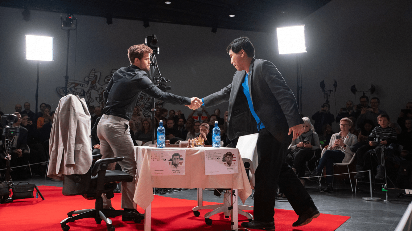 Carlsen, So To Play Skilling Open Final