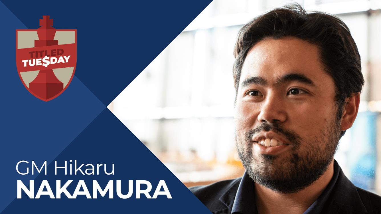 Nakamura Wins Titled Tuesday On Tiebreak