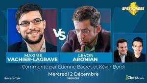 MVL-Aronian, duel au sommet des 1/4 de finale du SCC