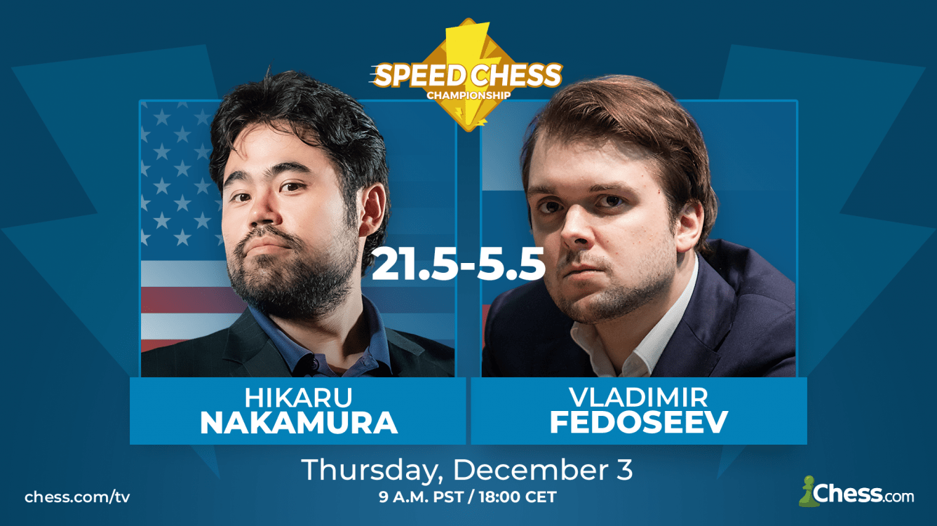 Nakamura Too Strong For Fedoseev In Speed Chess Match