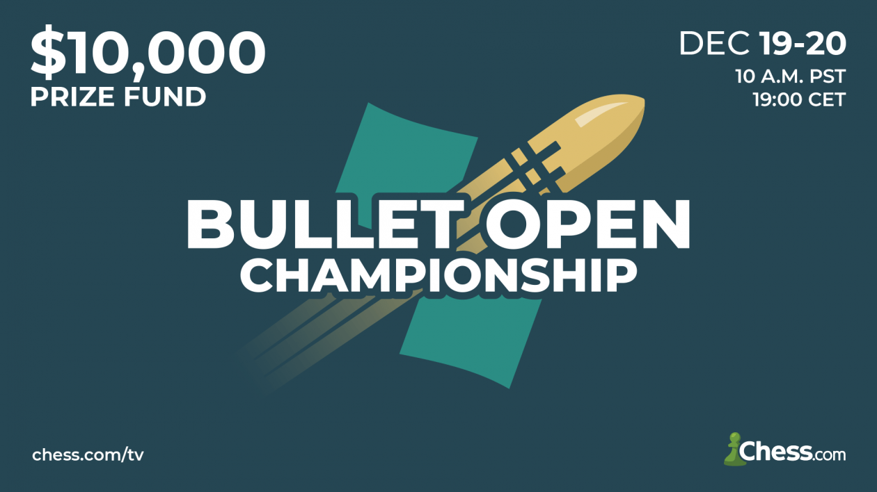 All The Information: Chess.com Bullet Open Championship