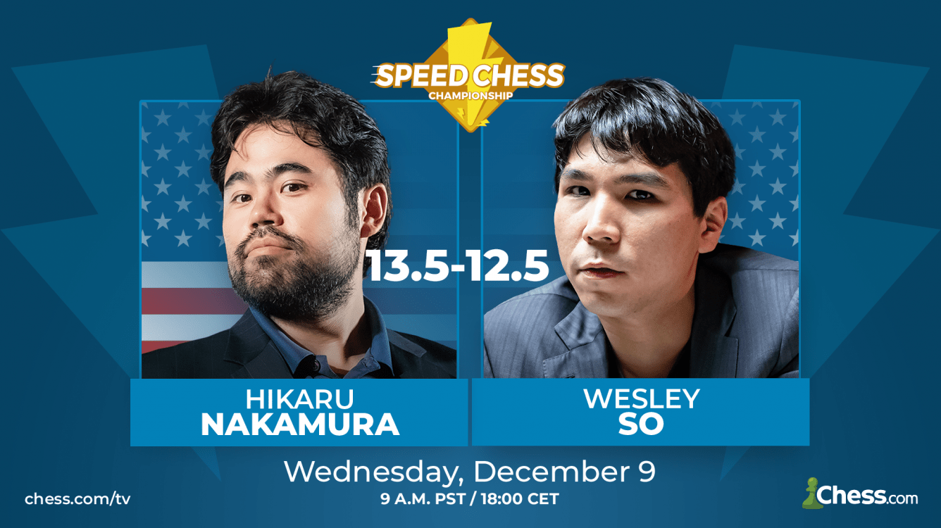 Nakamura Beats So To Reach Speed Chess Championship Final Presented By OnJuno