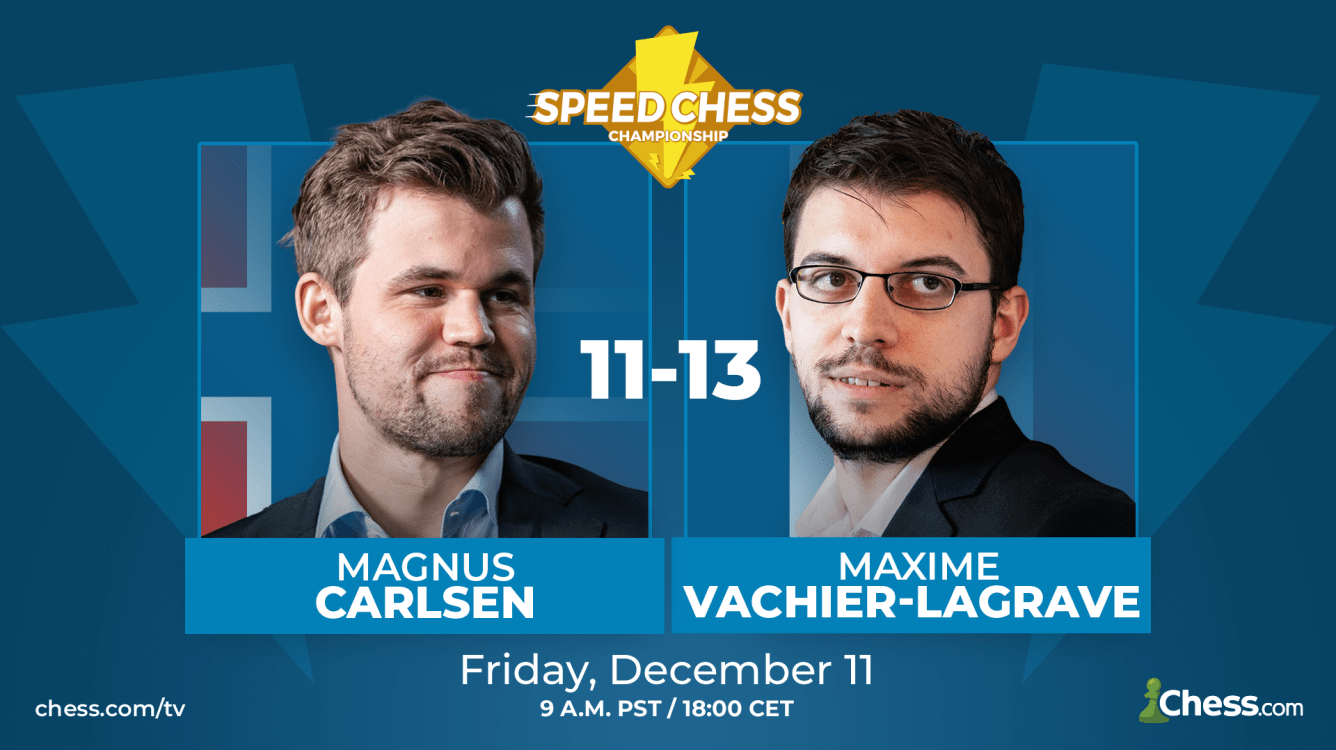 Vachier-Lagrave Eliminates Carlsen In Speed Chess Semifinal