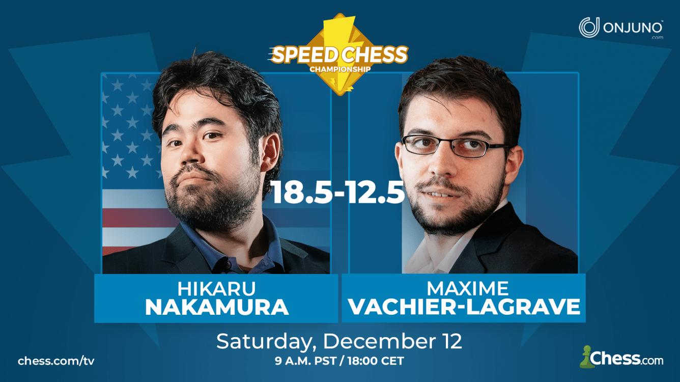 Nakamura, campeón del Speed Chess Championship de 2020, presentado por OnJuno