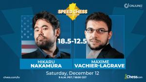 Nakamura gewinnt die Speed Chess Championship 2020
