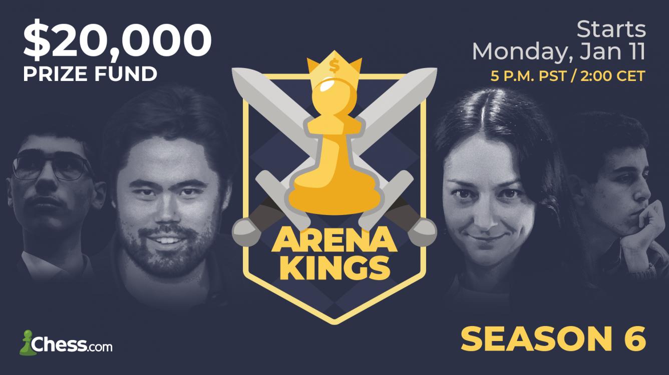 Arena Kings Season 6 Takes Off January 11