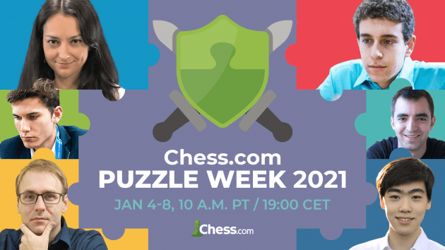 Chess.com Puzzle Week 2021: All The Information