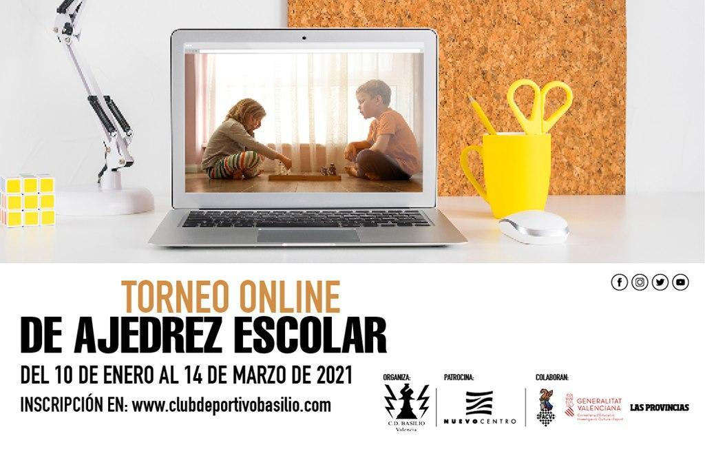 """Enlace del XXIII Torneo de Ajedrez Escolar """"Nuevo Centro"""" (10 de enero). Jornada 1."""