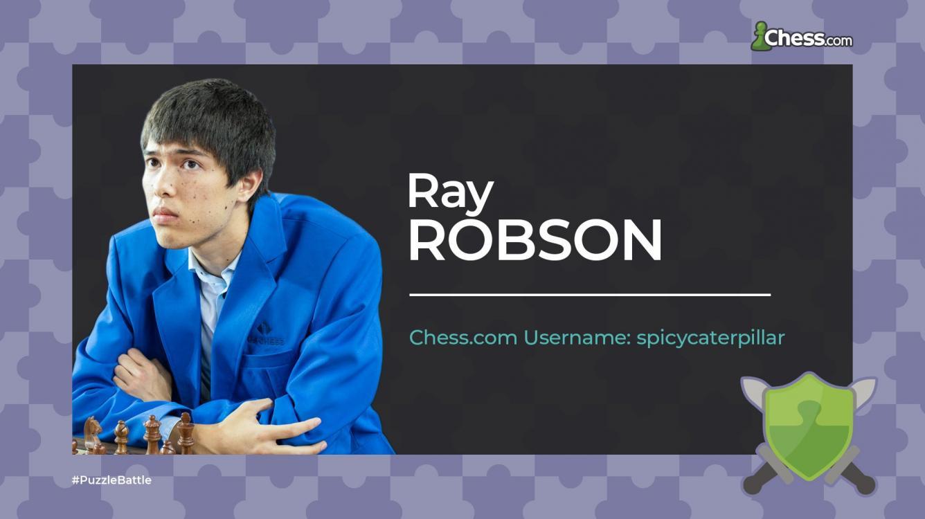 Ray Robson Wins Puzzle Battle World Championship