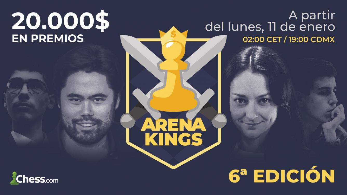 La 6ª edición del Arena Kings arranca el 11 de enero