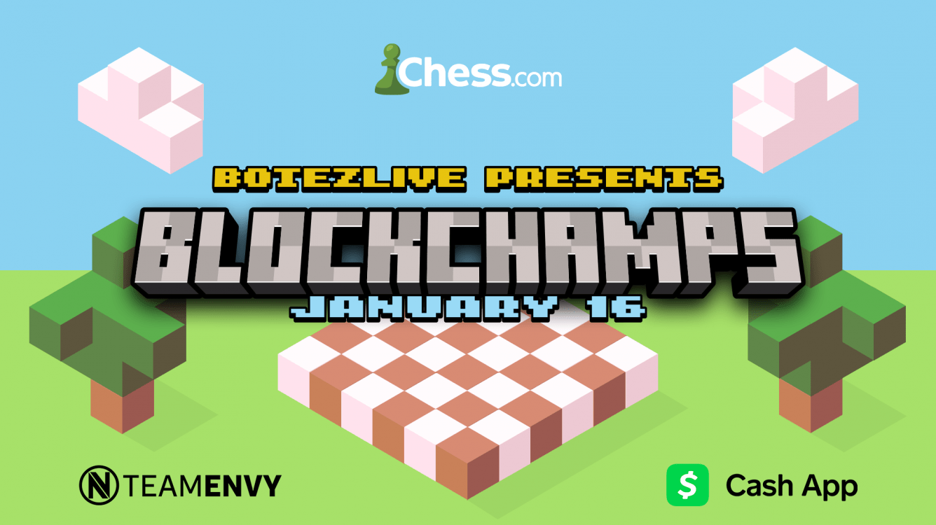 Saturday: BotezLive To Host BlockChamps Featuring Pokimane, LilyPichu, GeorgeNotFound
