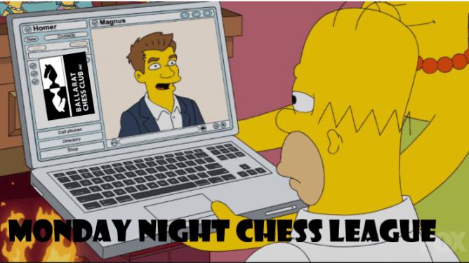 Season 2 Monday Night Chess League Begins 25th January