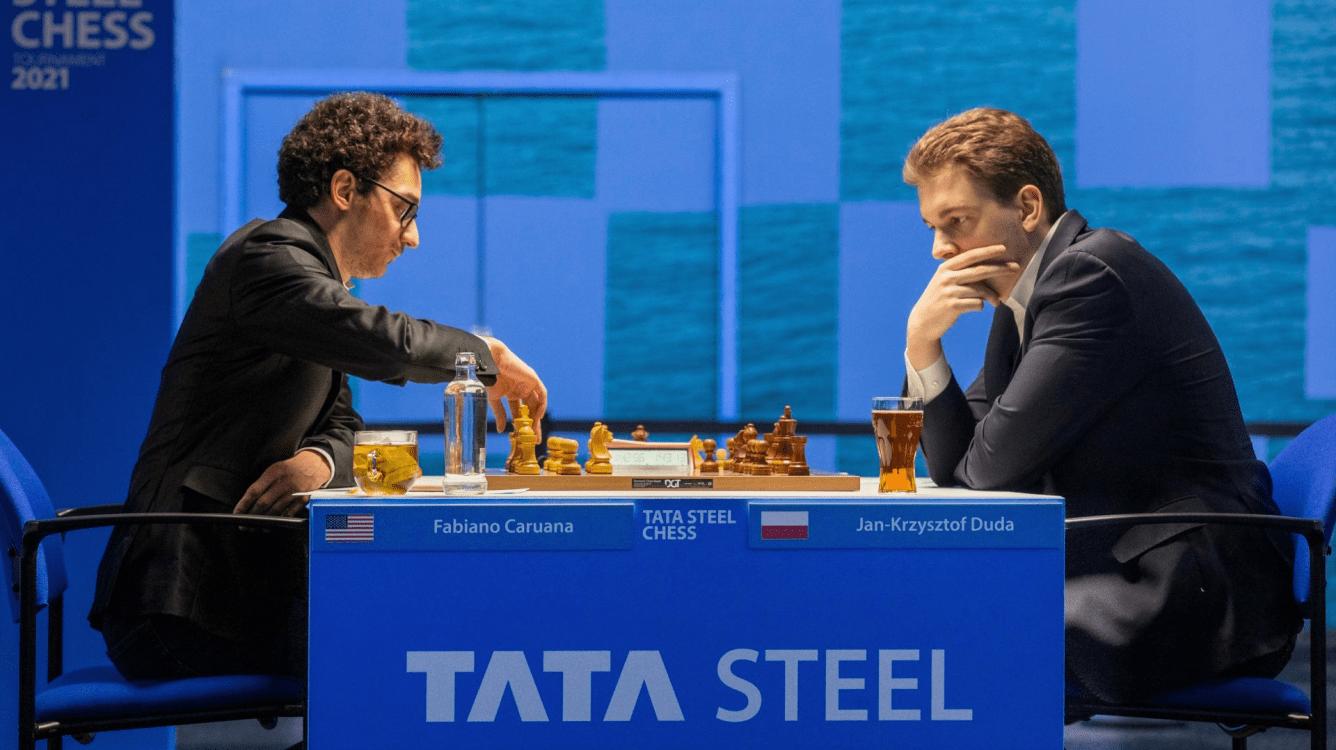 Tata Steel Chess 2021: Caruana Close To Winning Brilliancy Prize