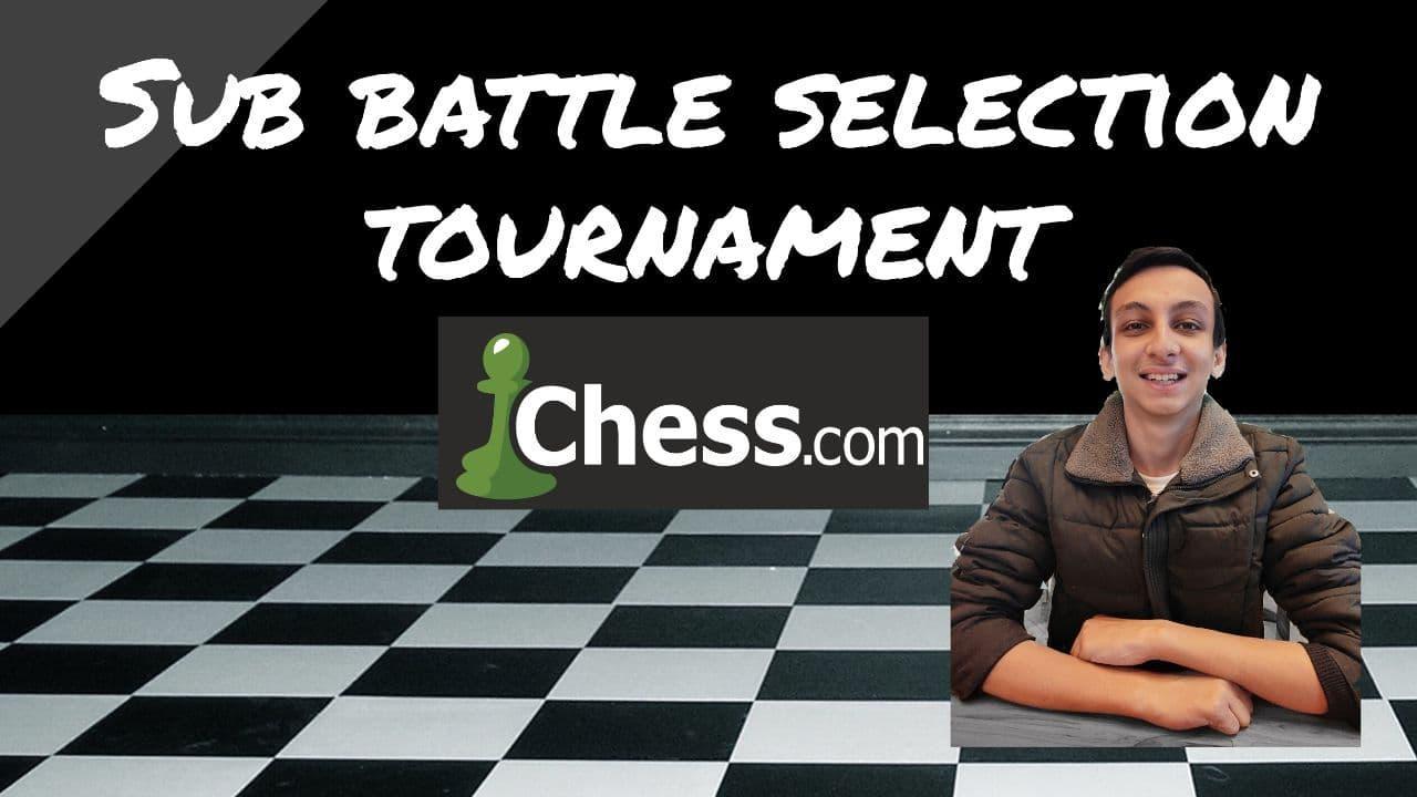 Sub battle selection tournament