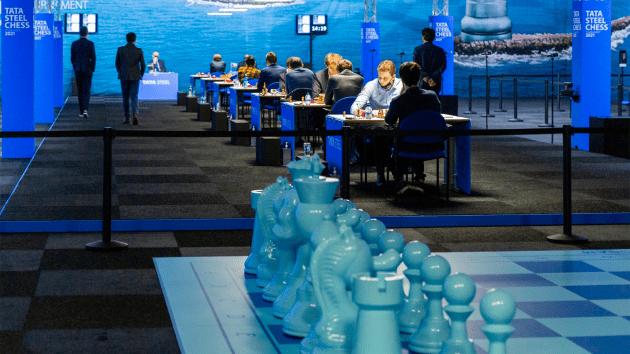 Tata Steel Chess 2021: Caruana, Giri Catch Firouzja As Carlsen Returns To Winning