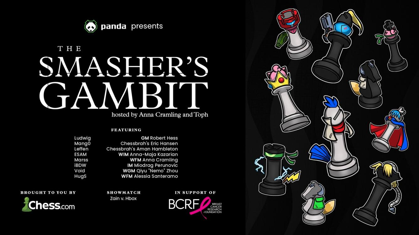 Today: The Smasher's Gambit Presented By Panda