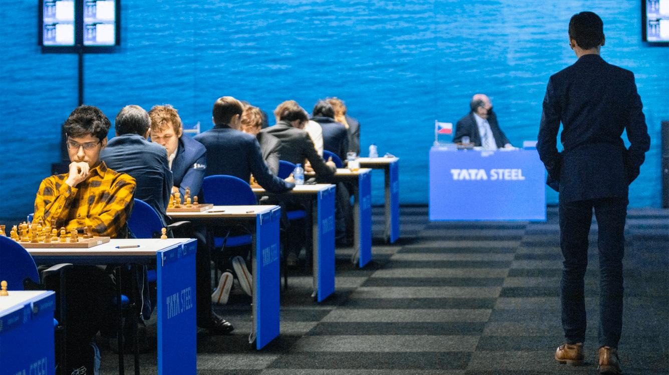 Tata Steel Chess 2021: Giri Misses Chance To Increase Lead