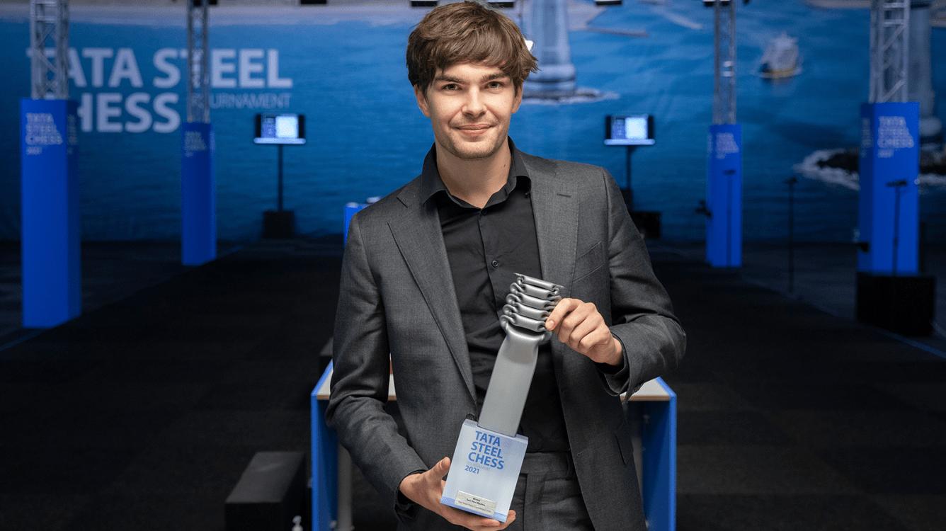 Jorden van Foreest Wins Tata Steel Chess Tournament 2021