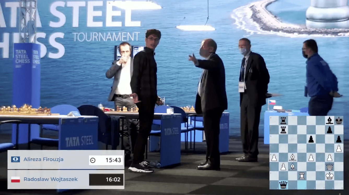 Tata Steel Chess Tournament Issues Statement On Firouzja Controversy