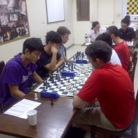 Prize winners for the first Hobbs/Thinker Chess monthly cash tournament!