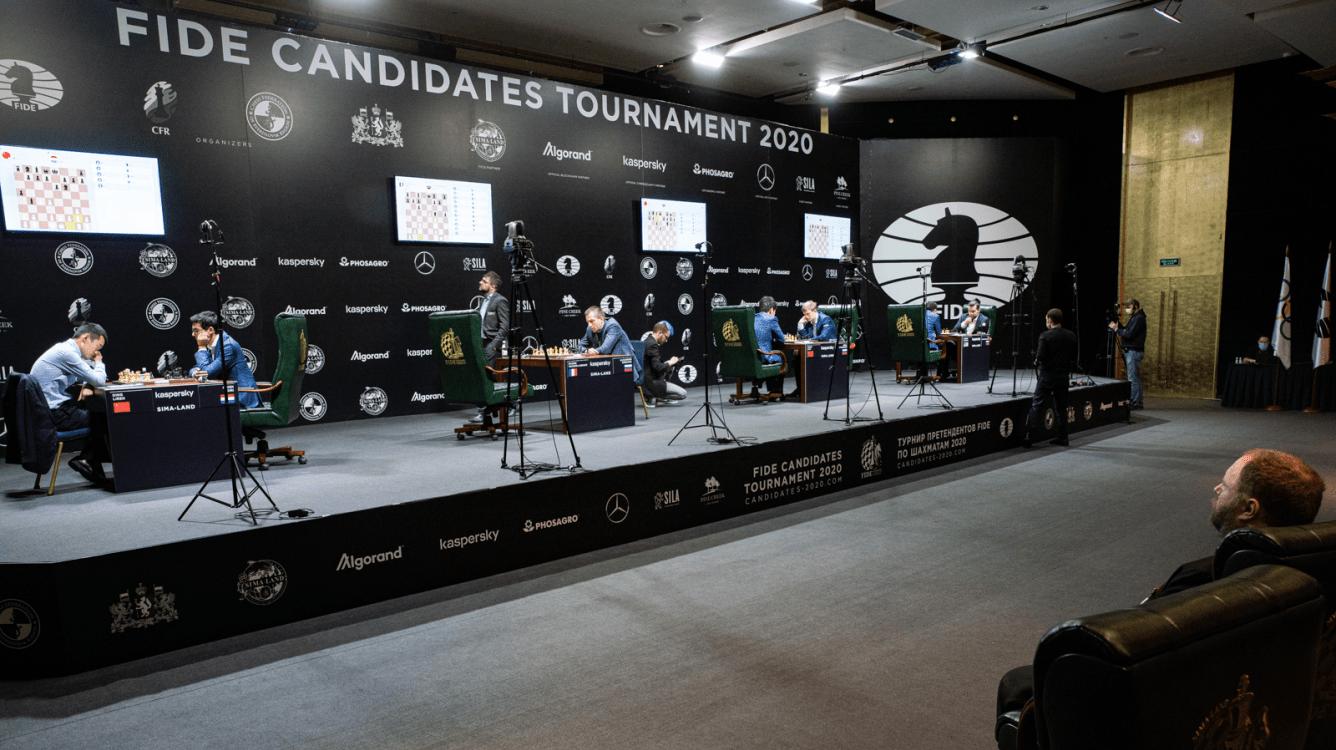 Турнир претендентов ФИДЕ возобновится в апреле в Екатеринбурге