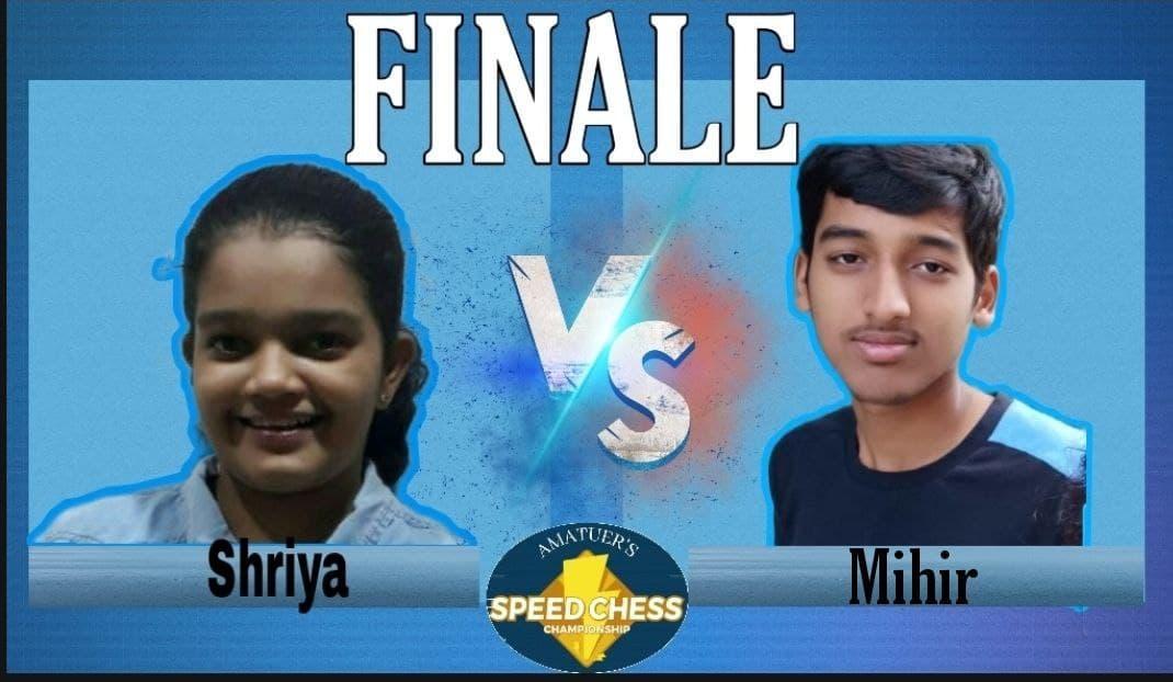 Speed chess tournament Day 5! Finals